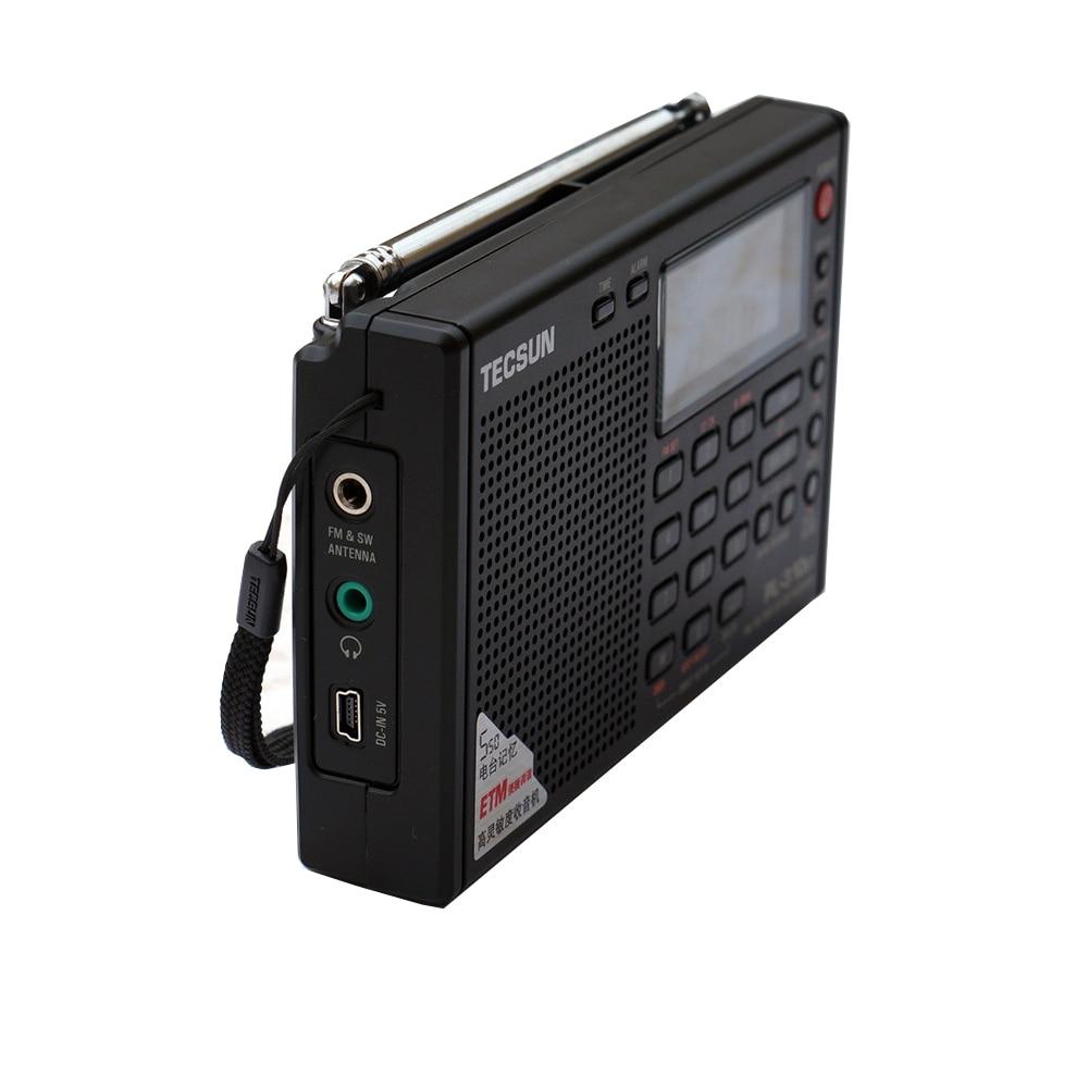 Tecsun PL-310ET Täysi bändi-radio Digitaalinen demodulaattori FM / - Kannettava ääni ja video - Valokuva 5