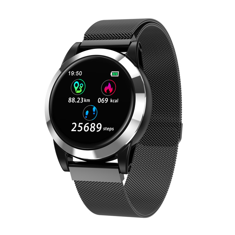 New Smart watch men Waterproof Heart Rate pulse meter Blood pressure Call Message Display Alarm Clock Sports watches for Women