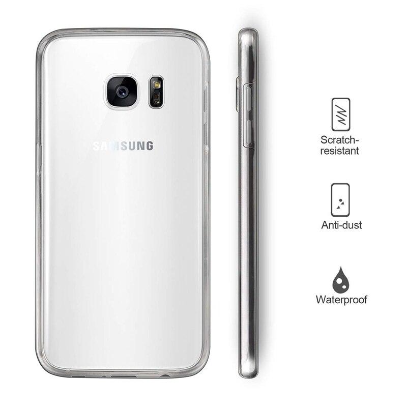 360 Degree Soft Case for Samsung Galaxy A7 A6 A8 Plus 2018 J2 Pro J6 J8 ... bb3de33039a3