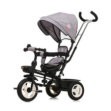 Swivel Seat Baby Stroller 3 In 1 Portable Baby Tricycle Stroller Children Tricycle Bike Bicycle Sit Flat Lying Trike Trolley