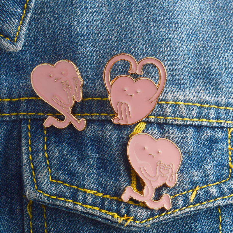 Apparel Sewing & Fabric 1pc Cute Cigarettes Scissors Metal Badge Brooch Button Pins Denim Jacket Pin Jewelry Decoration Badge For Clothes Lapel Pins