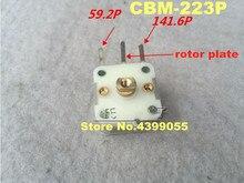 (10 pcs) (20 pcs) cbm 223 p CBM 223P 223 p 라디오 이중 가변 커패시터 라디오 튜너 튜닝 가능 커패시터