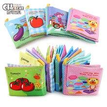 Livros de Pano macio Do Bebê Colorido Infantil Bebe Stroller Rattle Brinquedos de Aprendizagem Educacional Para O Bebê Recém-nascido 0-12 meses Xmas presente