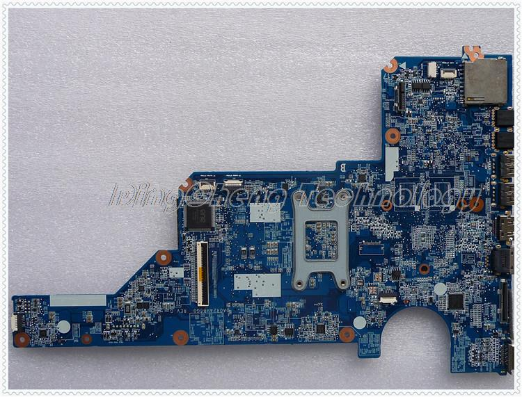 SHELI laptop Motherboard For hp G6 G7 641395-001 for AMD E450 cpu with integrated graphics card 100% tested Fully 657146 001 main board for hp pavilion g6 laptop motherboard ddr3 with e450 cpu