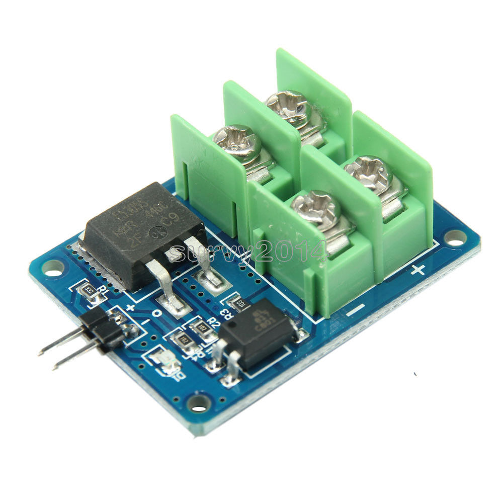 3V 5V Low Control High Voltage 12V 24V 36V switch Mosfet Module For Arduino Connect IO MCU PWM Control Motor Speed 22A digital dc motor pwm speed control switch governor 12 24v 5a high efficiency