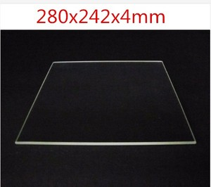 Funssor 100% Borosilicate Glass plate 280x242x4mm thickness 4mm for DIY Flyingbear P905X 3D printer Build Plate(China)