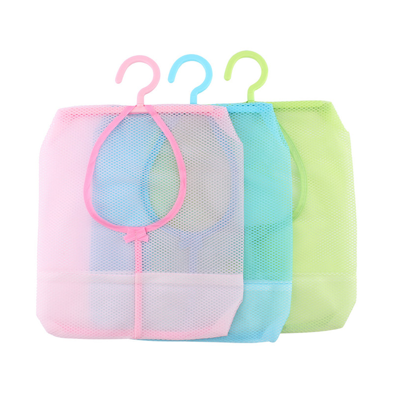 1Pcs Hang Mesh Bag Clothes Storage Hanging Laundry Bags Household Cleaning Tools Accessories Laundry Bags