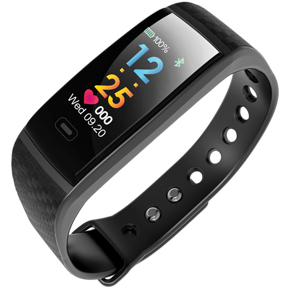 OLED Screen Heart Rate Smartband Fitness Tracker Wristbands Android IOS Compatible Fashion Passometer Smart Bracelet