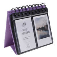 New 2019 Desk calendar Vertical Calendar Polaroid Photo Album Slip-in For PVC + Paper Mini