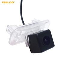 מצלמה אחורית גיבוי CCD המכונית 1 PC FEELDO עבור מרצדס בנץ MB/A150 200/B/B150 200/C Class מצלמה היפוך # FD3707-במצלמת רכב מתוך רכבים ואופנועים באתר
