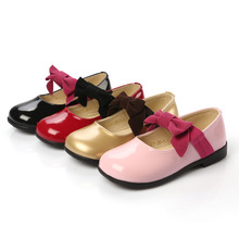 Spring Autumn New Childrens princess shoes little Baby Girls student Casual bowknot Dance Wedding Party Shoes