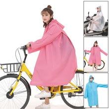 1PC good quality multifunctional waterproof plastic adult 3 in 1 Hooded raincoat women bicycle men Motorcycle ponchos