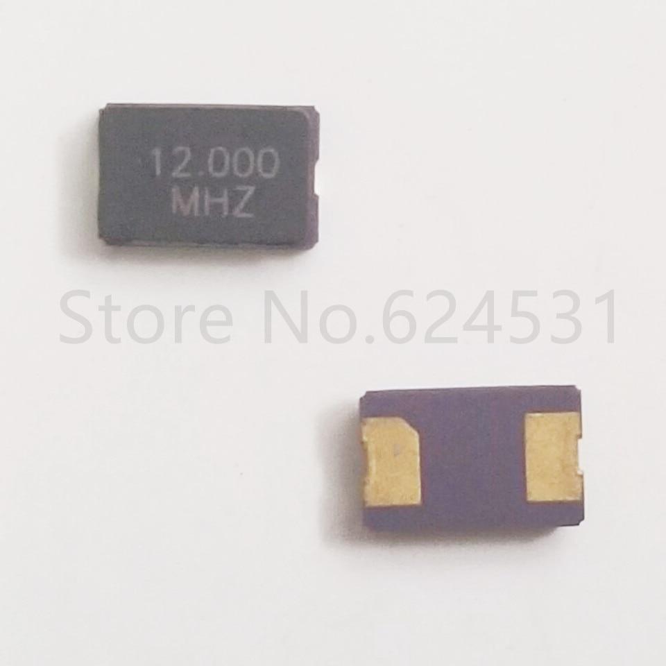 10pcs 5032  Patch Passive Crystal 2P 5*3.2 12MHZ 12.000MHZ Resonator