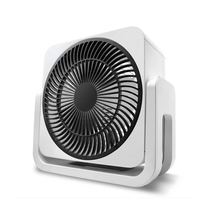 DMWD Household Electric Fan 220V Bedroom Table Turbofan Air Convection Fan Energy Saving Air Conditioner Partner 3 Gear