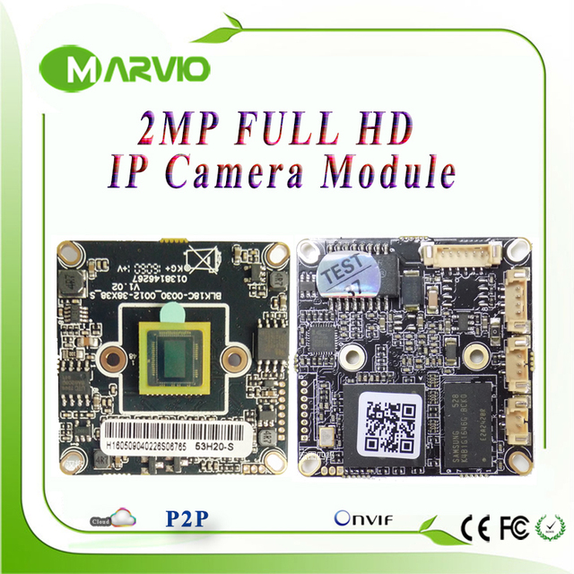 2MP Full HD High Definition perfect night vision CCTV IP camera Boards Module p2p 3516C, Onvif, Free P2P Series No.