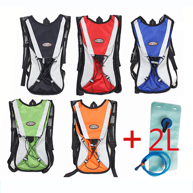 Cycling Backpack Hydration Pack With 2L Water Bladder Bag Riding Running Camping Bag Backpack Cycling Rucksack|rucksack running|rucksack backpack|rucksack bag - title=