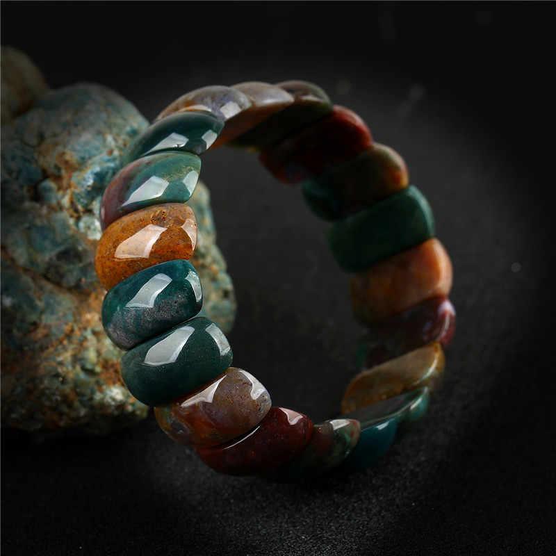 K's Gadgets หินธรรมชาติ Charm กำไลและกำไลเครื่องประดับหญิง Elastic Wrap สร้อยข้อมือผู้หญิงสร้อยข้อมือ Pierre Naturelle
