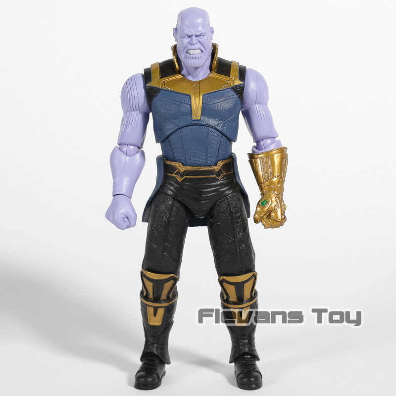 Vingadores Marvel Thanos Infinito Guerra 7 ''Estatueta Modelo Toy Action Figure Solto