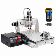 USB Port CNC Machine CNC6040 2 2KW Limit Switch Metal Cutting Machine with mach3 remote control