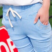 НОВАЯ мода марка женщины тощий карандаш джинсы упругие брюки стиральная цвет Шнурок женщина случайные жан брюки 1632