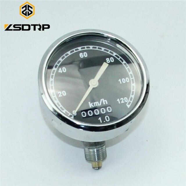 ZSDTRP 0 120/160 km/h ישן דגם מד מהירות בשימוש KC750 צד רכב אופנוע מקרה עבור BMW R12 r71 KC750 M 72 MW 72 מנוע