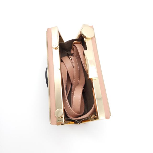 CHAOLIUBANG funny women's leather handbags camera shaped mini crossbody bags for women panellet shoulder clutch purse summer sac