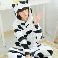 22 Styles All In One Flannel Anime Character Pijama Cartoon Cosplay Warm Sleepwear Hooded Homewear Women
