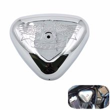 Motorcycle Chrome Plastic Air Filter Cover Cap For HONDA STEED 400 600 VLX VLX400 VLX600 Air Intake Cleaner Protective shell(China)