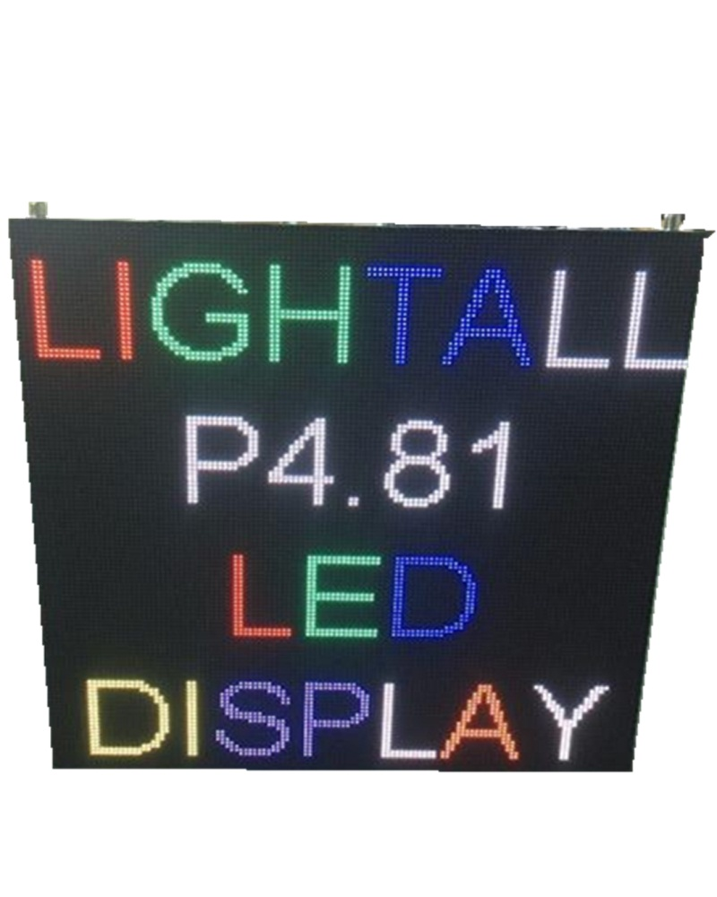52*52 SMD2121 Lamp One Cabinet Can Compatible With A Variety Of Pitch Indoor Module P3.91/p4.81 500*500mm Advertising Led Screen