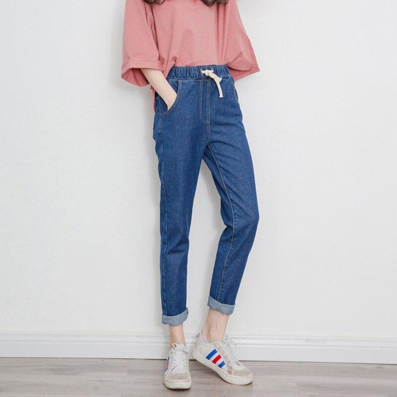 2018 New   Jeans   Women Pencil Pants Denim Skinny Pants Harem Cotton Female Elastic Stretch Trousers   Jeans