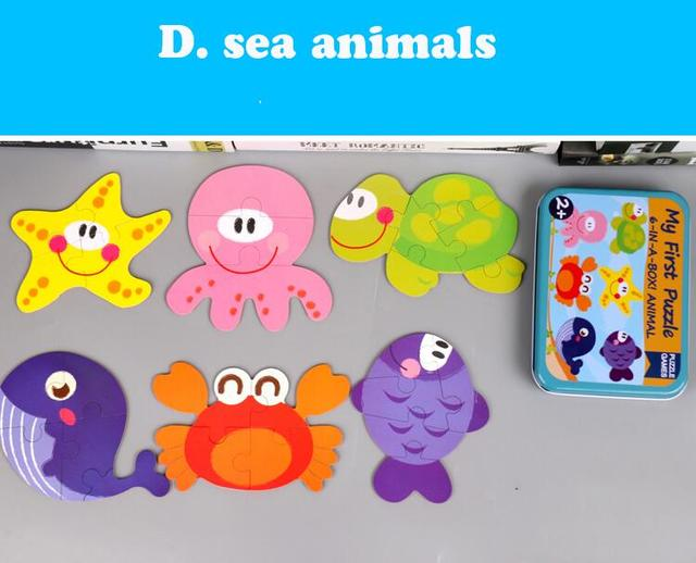D sea animals Learning gifts for 2 year olds 5c64f56a1bb2d