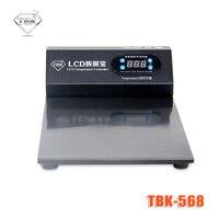 -568 110 V/220 V Czarny Panel Dotykowy Szkło Separator Ekranu dla iPhone 8 plus Dla ipad 2 dla Samsung LCD Podział Naprawy maszyna