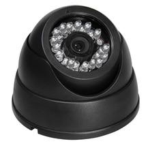 1200TVL Color CCD IR Day Night Vision Dome Wide Angle CCTV Security Camera PAL NTSC