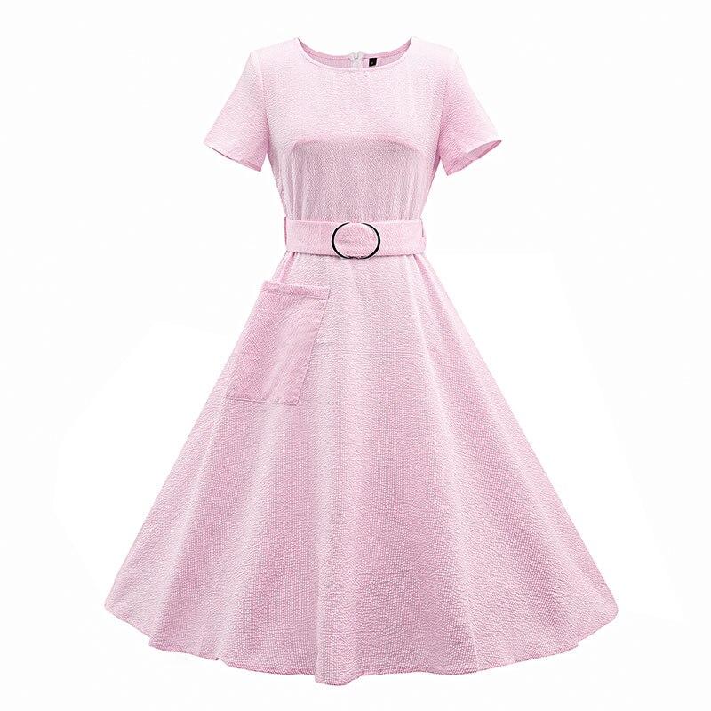 JAVERS] Estilo de Audrey Hepburn 50 s 60 s Vintage Vestido de Las ...