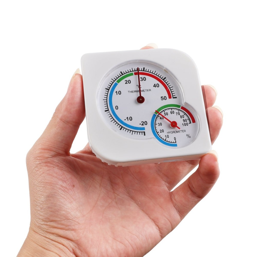Indoor Outdoor MIni Wet Hygrometer Humidity Thermometer Temperature Meter  Nursery Baby House New Arrival