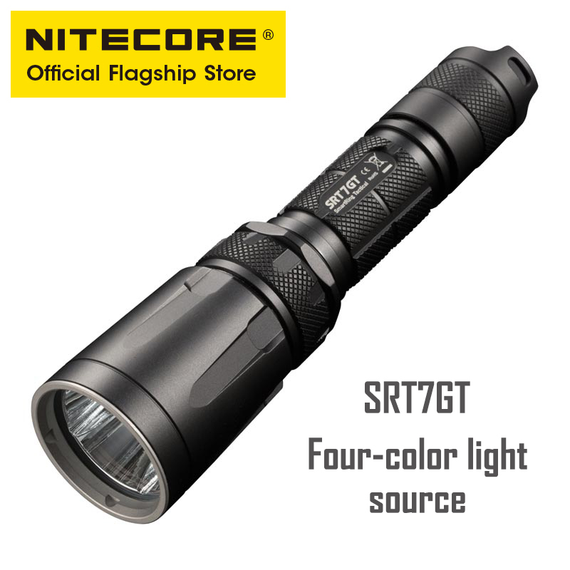 <font><b>Nitecore</b></font> <font><b>SRT7GT</b></font> Control Ring Strong Light tactical lithium battery flashlight outdoor led ultra-bright image