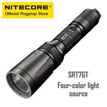 Nitecore SRT7GT управление кольцо сильный свет тактический литиевая батарея фонарик открытый светодиодный Ультра-яркий