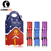 LUMINTOP 2018 New Year S Edition Edc Color Flashlight Tool AA 550 Lumens Cree Led Pocket