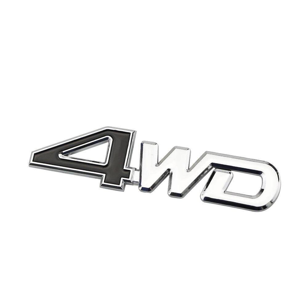 Jameo авто хвост сзади сбоку 4WD Стикеры 3D Chrome знак наклейка укладки Стикеры s для Jeep Compass Renegade Cherokee wrangler