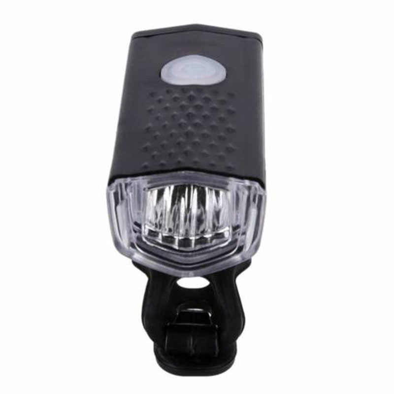 300LM Cycling Bicycle LED Lamp USB Rechargeable Bike Front Light H1
