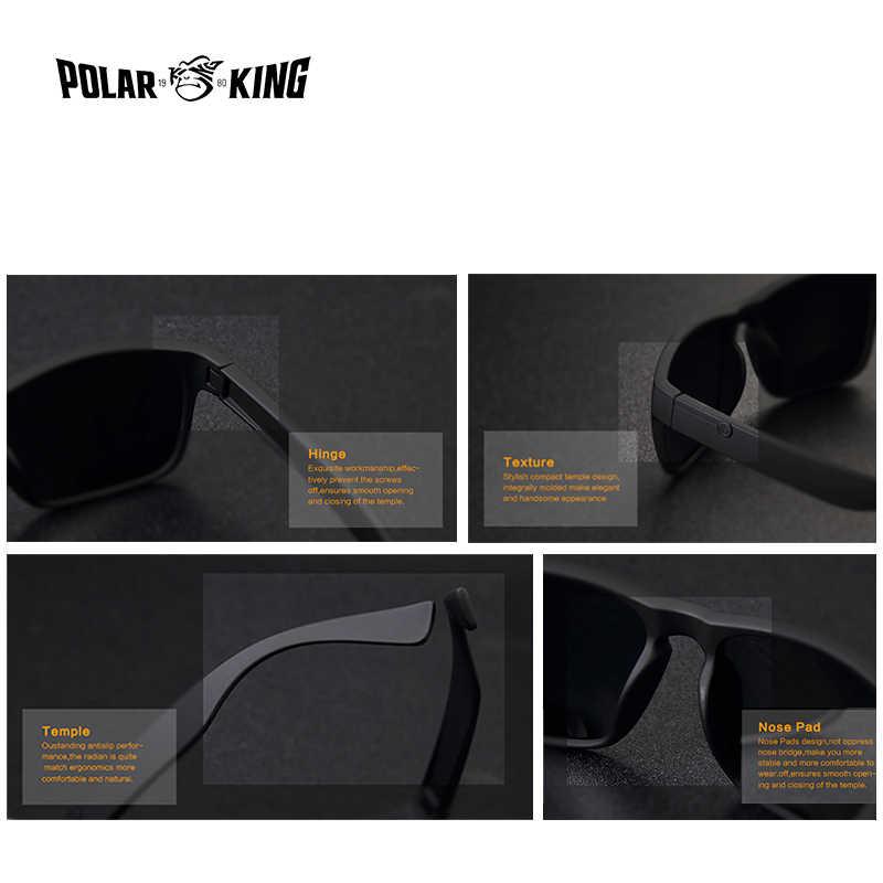 نظارات شمسية مستقطبة ماركة POLARKING للرجال نظارات بلاستيكية على الموضة للرجال نظارات مربعة للقيادة نظارات شمسية للسفر