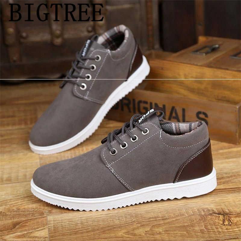 รองเท้าผู้ชายรองเท้าสบายๆฤดูหนาวรองเท้าผู้ชาย 2019 รองเท้าบู๊ทรองเท้าผู้ชายรองเท้าแบรนด์หรู bota masculina zapatos de mujer buna