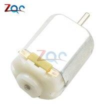 3V 0.2A 12000 об/мин 65Gcm мини микро двигатель постоянного тока для DIY игрушки хобби для салона автомобиля
