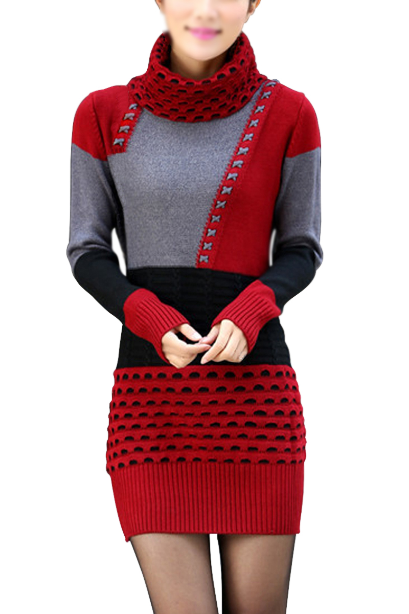 Syb 2016 new women sweater blouse tops turtleneck for Long sweaters and shirts