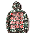 Kanye West Pablo Camo Homens Do Hoodie Homem Mulher 2017 Novos Camuflagem Moda Justin Hip Pop Stle Swestshirt Americano Popular Pull