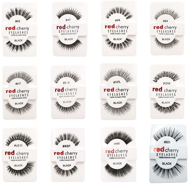 1 Pairs 100% Handmade Natural False Eyelashes 5 Styles Makeup Beauty False Eyelashes New Fashion Women Fake Eye Lashes 4
