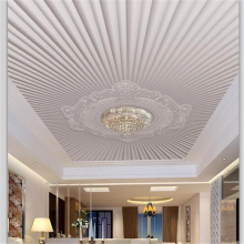 beibehang Custom wallpaper 3d modern simple European embossed pattern ceiling roof fresco papel de parede