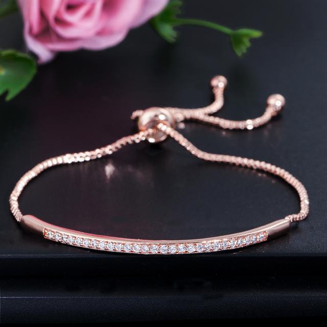 Women's Cubic Zirconia Ring and Bracelet Set