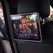 Car Television TV Monitor For Jaguar F-Pace 2016 Back Seat Android Headrest Rear Entertainment DVD Screen11.8 inch 2PCS