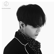 GD(G-Dragon) PEACEMINUSONE GD100 IN EAR Wired Active Noise Cancelling High Earphone Black Edition